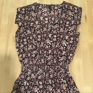 MNG - floral mini dress